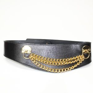 Vintage Gold Chain Waist Clench Belt